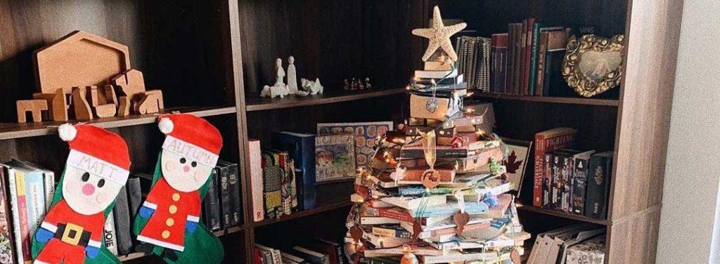 Zero-Waste Weihnachtsbaum