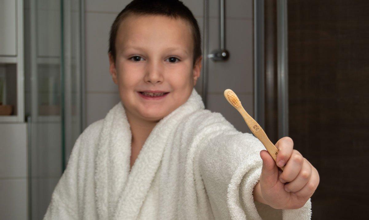 Zahnbürste nachhaltig junior